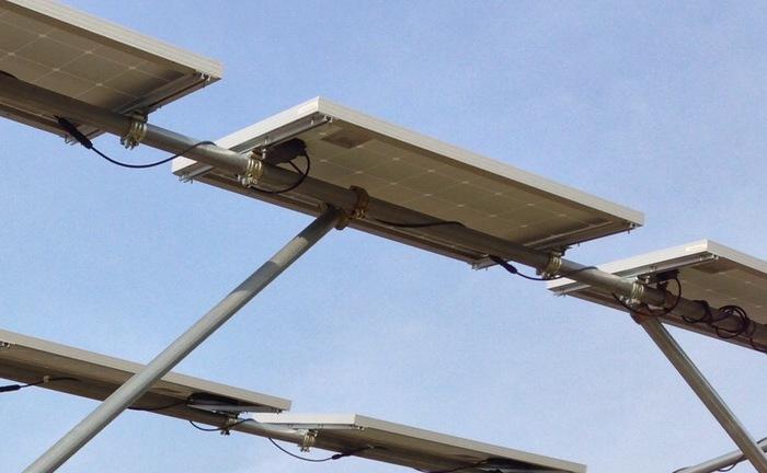 ソーラーシェアリング可動式単管パイプ(鋼管)