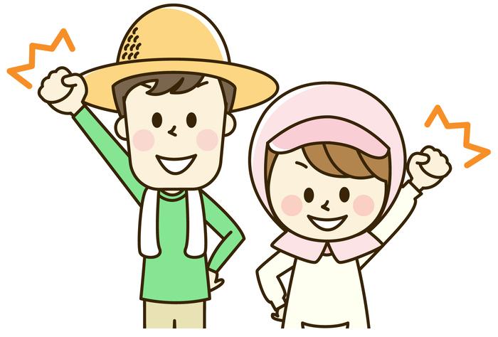 農業次世代人材投資資金の夫婦で受給するイメージ図