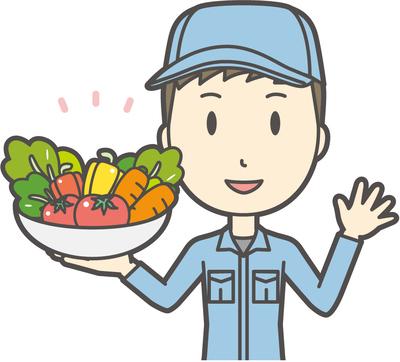 農家のイメージ図