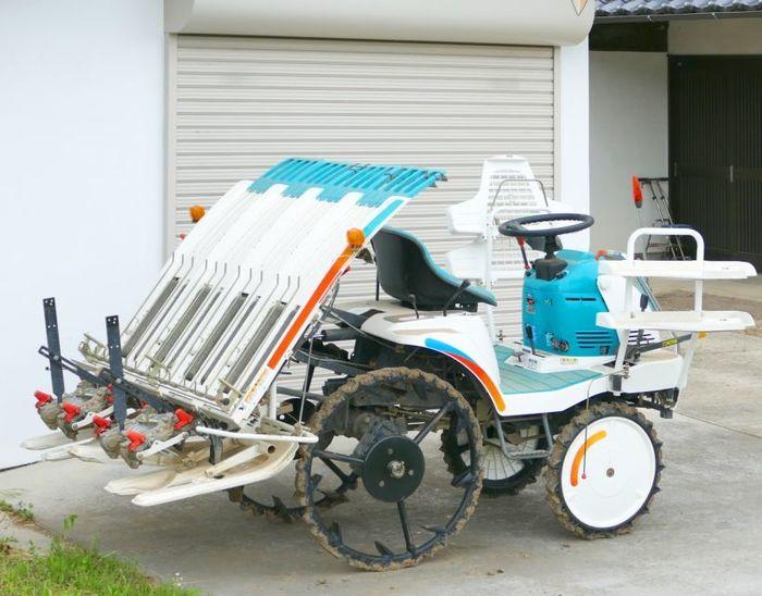 農家に必要なもの7田植え機