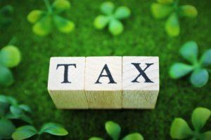 認定農業者になって税制優遇装置を受けるイメージ図