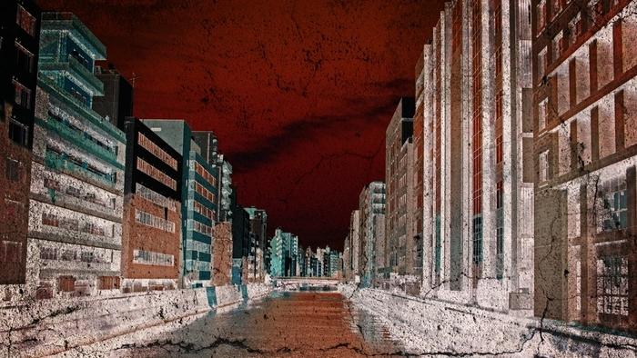 大地震のイメージ