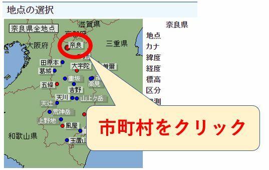 気象庁ホームページ3