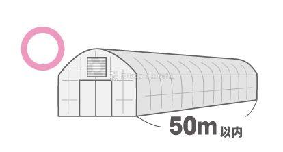 長さは50mが限度